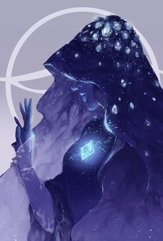 Blue Diamond by kateheichou
