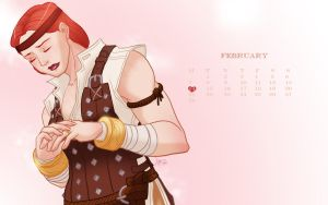 Dragon Age Calendar 2011 Feb by victricia