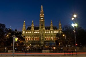 Vienna town hall by LunaticDesire