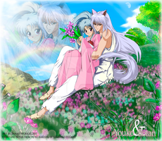 .::Youko and Botan::. by FanasY