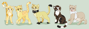 Allied Kitties by RoxyPuppyGirl