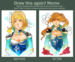 Improvement Meme by kaayamachi