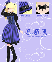 MOTME: Gothic Lolita by sapphire-and-ice
