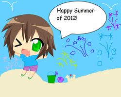 Happy Summer 2012! by AquaSeaPrincessChan8