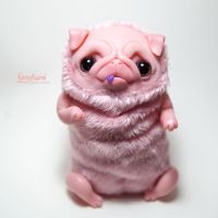 pug toy by Furrykami-creatures