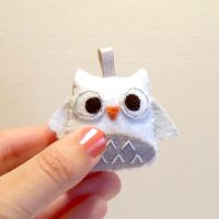 Hedwig plush harry potter owl by yael360