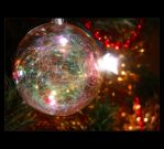 Christmas Bauble with a Twist by Forestina-Fotos