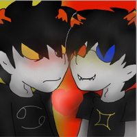 Karkat And Sollux by SirSaltiness