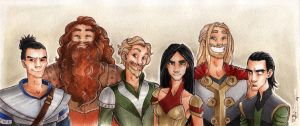 Warriors of Asgard by CaptBexx