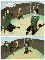 Drama On The Quidditch Pitch by i-like-sporks
