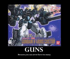Gundam Demotivational poster by SparkyPantsMcGee