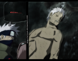 Naruto 679 - Obito dead ? by X7Rust