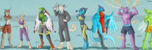 Pokemon UFC Lineup (Commission/Trade) by Ulario