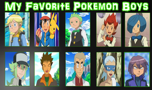 My Favorite Pokemon Boys Meme by Gamer5444