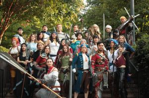 Dragon Age Group at Dragon Con by PinkJusticeCosplay