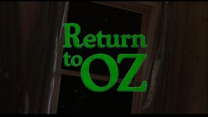Return to Oz title card by Doctorwholovesthe80s