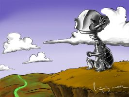 scene for a robot by cagataymetin