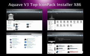 AquaveV3 iconPack Top Inst X86 by Mr-Ragnarok