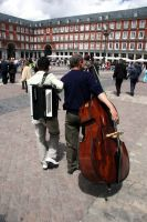 Double Bass Chase by amyhooton