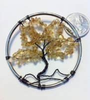Bead and Wire Tree of Life by KrystalsTinyCakery