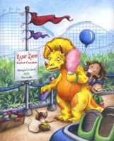 Dino Day at the Fun Park by Isynia-Artessa