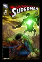 Superman vs. Metallo by brunomazzini