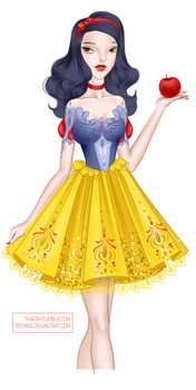 Snow white = redesign by Reiyang
