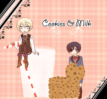 Kuro: Cookies and Milk by shiriomi