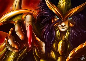 Fan Art Saint Seiya Milo de Escorpion by ManuDGI