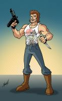 Jack Burton by natelovett