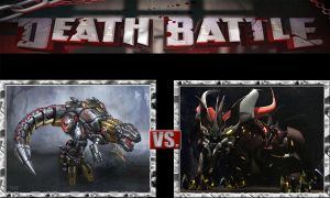 Grimlock vs. Predaking by ChipmunkRaccoon2