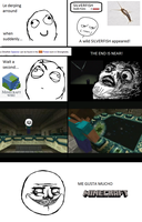 Rage comic - Silverfish by michaelgabrielr