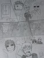 Ao Oni Comic by LazyT90