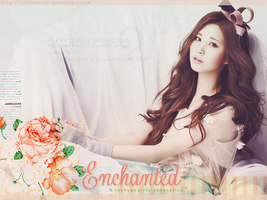 enchanted. - seohyun wallpaper by AllRiseHyuk