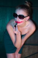 Too much lipstick by ManaGesi
