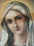 Heart of Mary (fragment) by Patahem