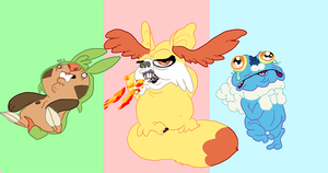 new pokes by thrill-house