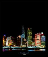 Hong Kong Skyline by budmanipulation