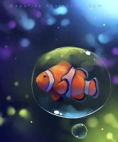 clown fish by Apofiss