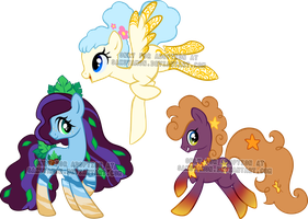 Mare Pony Adoptables 7 by Sakuyamon