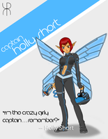 Holly Short - Artemis Fowl by ReuDark