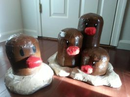 Mole Family by DuctileCreations
