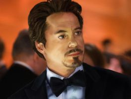 Tony Stark Portrait by charsita