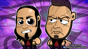 Viktor and Konnor, The Ascension - WWE NXT Chibis by kapaeme