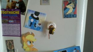 More pony magnets to invade the fridge by RE-ACTION1982