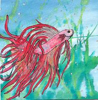 Concentration Piece 10: Betta's Fury by knsmith0110
