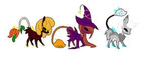 Halloween themed Hellspawn auctions closed by Fluffomaru