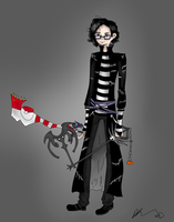Tim Burton in Kingdom Hearts by TheAwesomeNordics