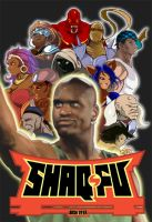 Shaq Fu by IronYaya