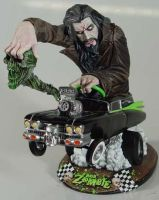 Rob Zombie Demon speeding statue Barsom by BaRs0m